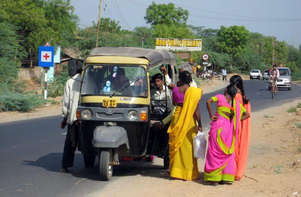 Priser på transport på Sri Lanka - Tuk Tuk