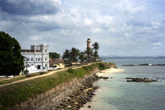 Fortet i Galle på Sri Lanka