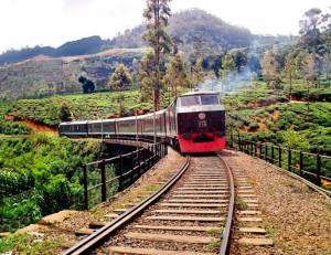 Sri Lanka rundrejse med tog