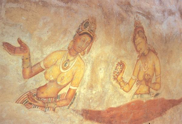 Sigiriya vægmalerier