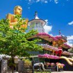 Flot og farverigt tempel