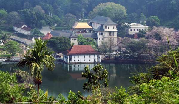 Temple of the Tooth – Sri Lankas vigtigste helligdom