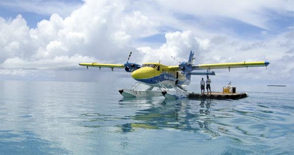 Vandfly til Maldiverne
