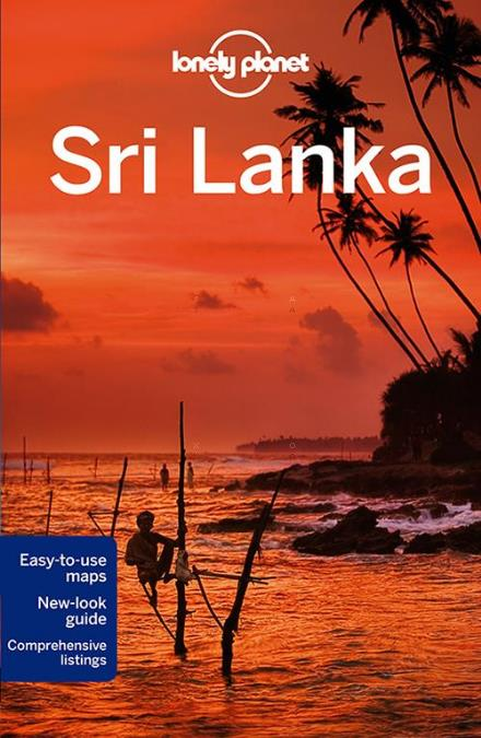 Sri Lanka bog fra Lonely Planet