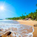 Billedskøn strand på Sri Lanka