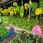 Der er knald på farverne på deres grøntsagsmarkeder