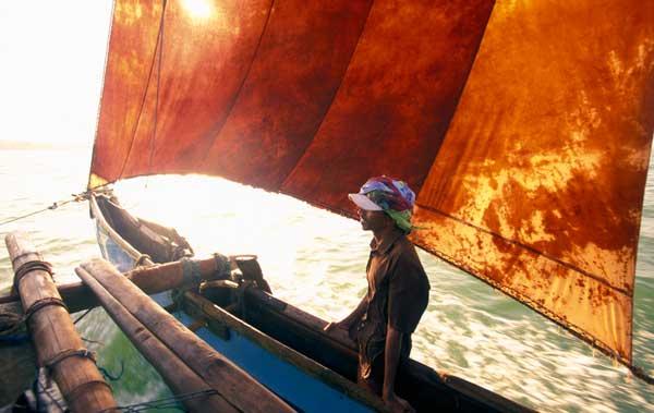 Fisker fra Negombo