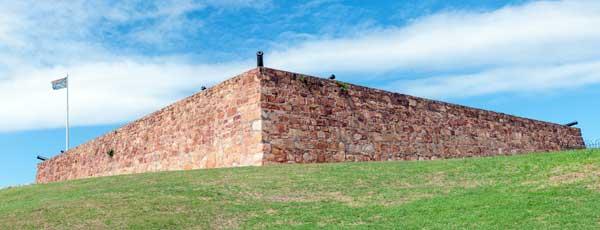 Fort Frederick på Sri Lanka