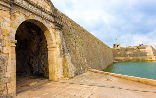 Jaffna Fort på Sri Lanka