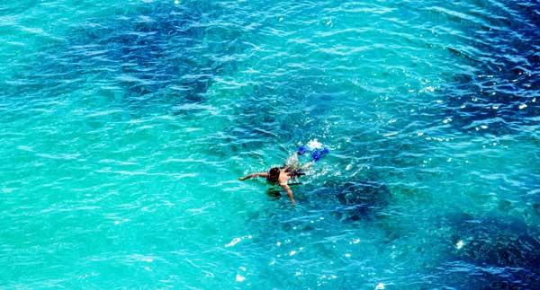 Snorkling på Sri Lanka
