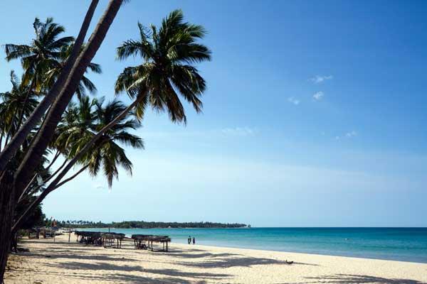 Uppuveli Beach er en smuk strand